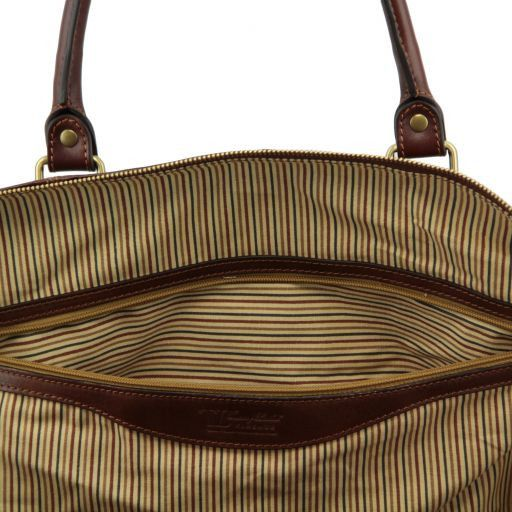 Colombo Set da viaggio in pelle Marrone TL141256