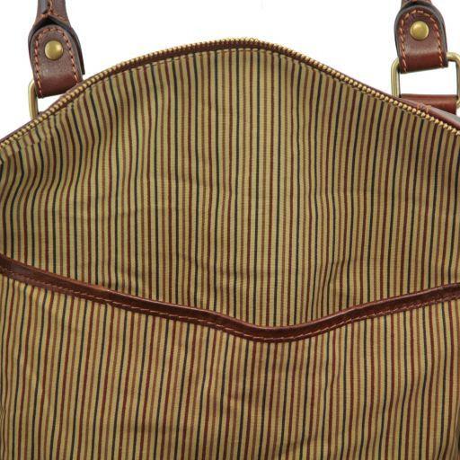Marco Polo Set da viaggio in pelle Miele TL141246