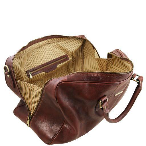 Lisbona Leather travel set Brown TL141659