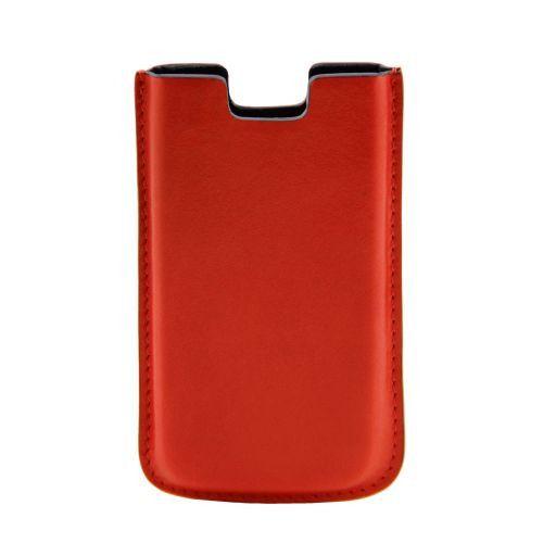 iPhone SE/5s/5 Etui aus Leder Orange TL141128