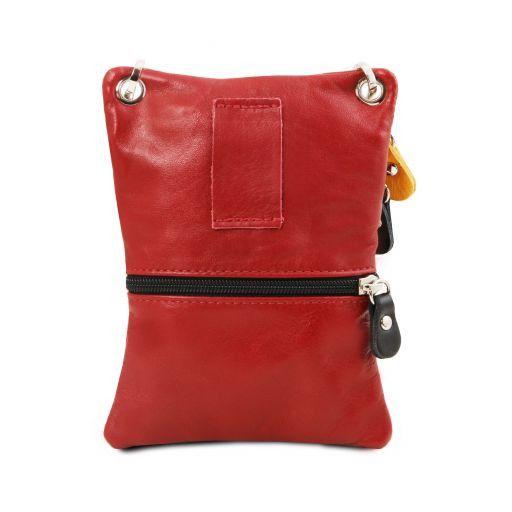 TL Bag Сумка-мини через плечо из мягкой кожи Темный серо-коричневый TL141094