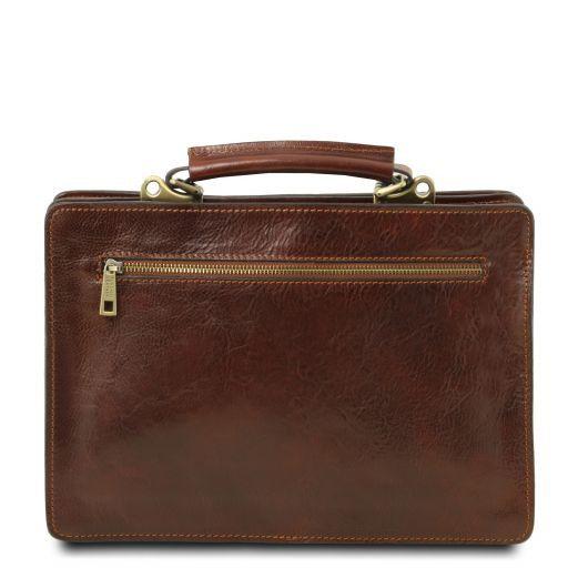 Tania Женская кожаная сумка Черный TL141270