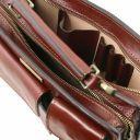 Tania Женская кожаная сумка Коричневый TL141270