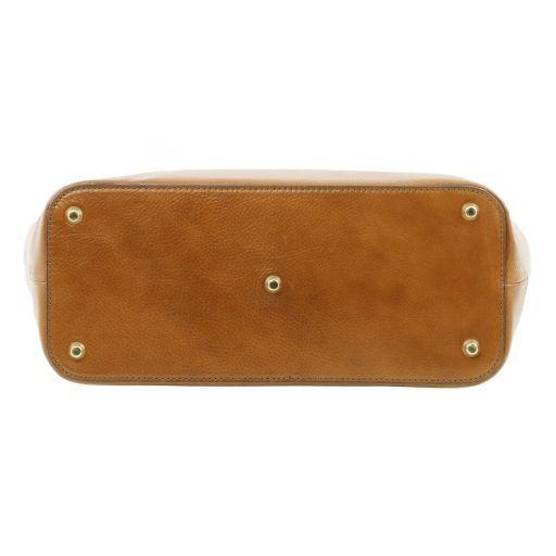 TL NeoClassic Borsa shopping in pelle con doppi manici Testa di Moro TL141231