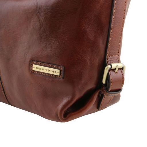 Sabrina Leather hobo bag Honey TL141479