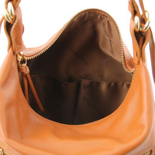 TL Bag Leather convertible bag Cognac TL141535