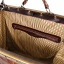 Madrid Gladstone Leather Bag - Large size Brown TL1022