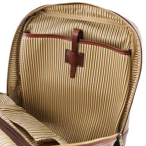Kyoto Zaino porta notebook in pelle Marrone TL141859