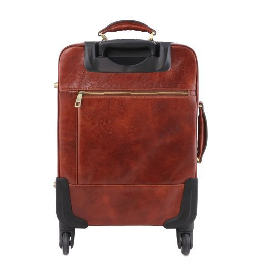 TL Voyager Trolley verticale in pelle con 4 ruote Miele TL141911