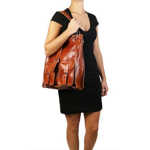 Melissa Borsa donna in pelle Rosso TL140928