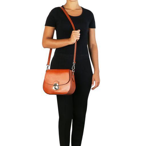 TL Neoclassic Leather shoulder bag Black TL141517