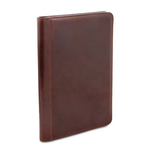 Lucio Exclusive leather document case with ring binder Honey TL141293