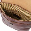 Joe Кожаная сумка через плечо Черный TL140987