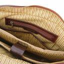 San Miniato Cartella Porta notebook multiscomparto in pelle con due tasche frontali Nero TL142026