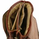 Alessandria TL SMART Multifach-Notebooktasche aus Leder Honig TL142067