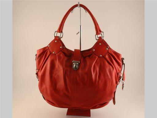 Virginia Borsa donna in pelle Rosso TL140556