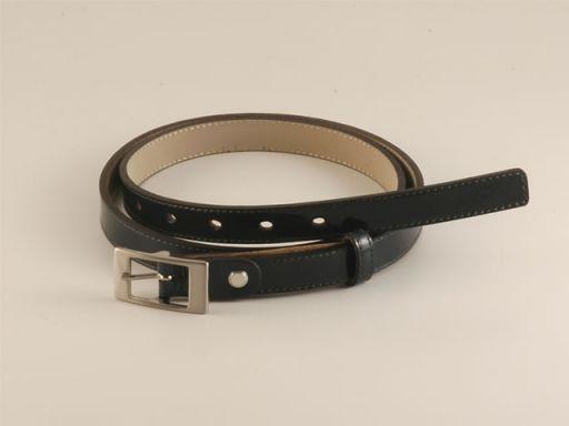 Esclusiva cintura in pelle Verde TL140577