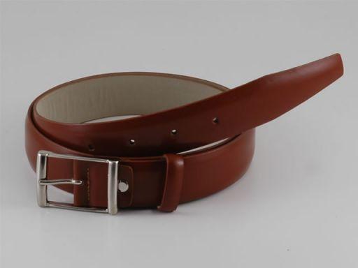 Esclusiva cintura in pelle Marrone TL140592
