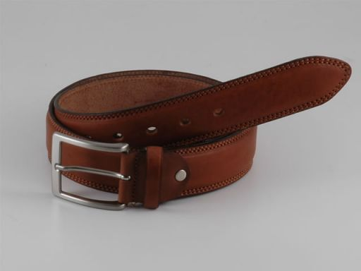 Esclusiva cintura in pelle Marrone TL140596