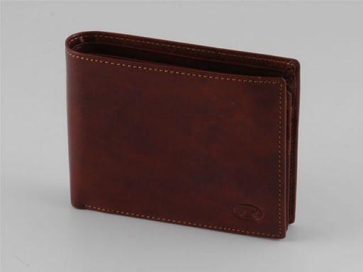 Esclusivo portafogli da uomo in pelle Testa di Moro TL140618