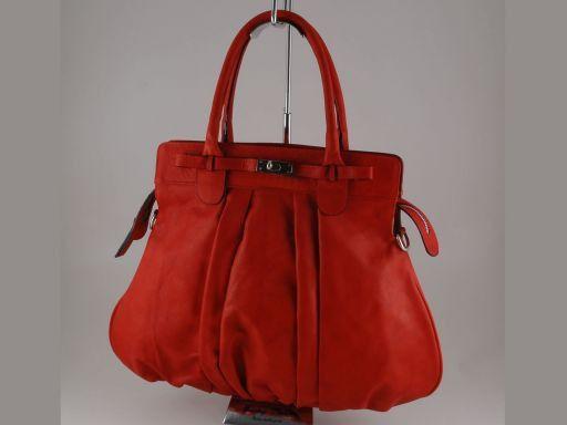 Giovanna Borsa in pelle da donna Rosso TL140638