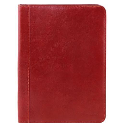 Ottavio Esclusivo portadocumenti in pelle Rosso TL141214