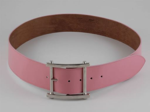 Esclusiva cintura in pelle Rosa TL140652