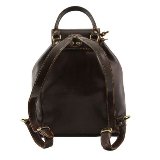 Singapore Leather - Backpack Brown TL9039