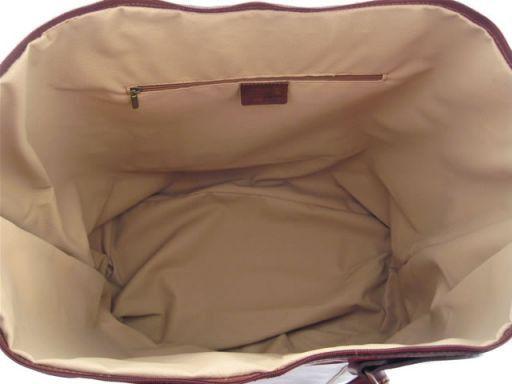 Vienna Travel leather bag - Large size Черный TL1047