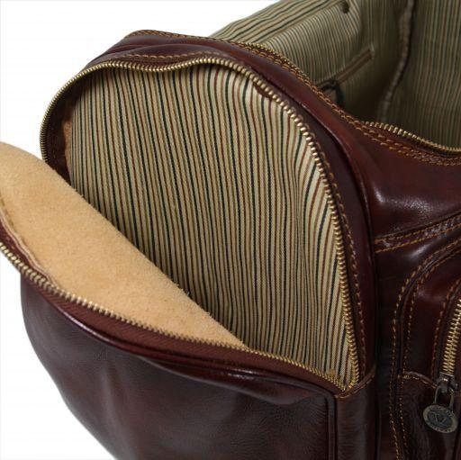Praga Travel leather bag Brown TL1048