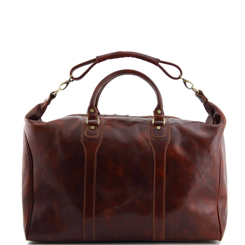 Tuscany Leather Amsterdam Sac de voyage en cuir Marron g0iixD3