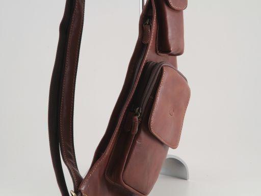 Cortina Marsupio monospalla in pelle Nero TL90145
