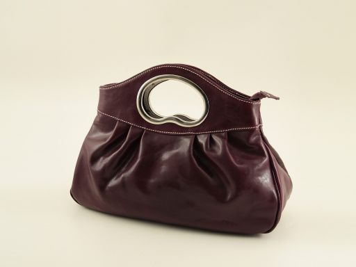 Nicole Lady leather bag Purple TL140690