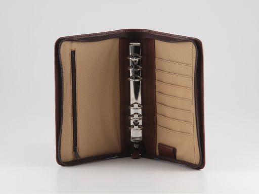 Alessandro III Leather organizer Brown TL10204