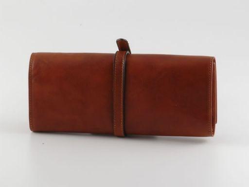 Gioiello Esclusivo portagioie in pelle Arancio TL140219