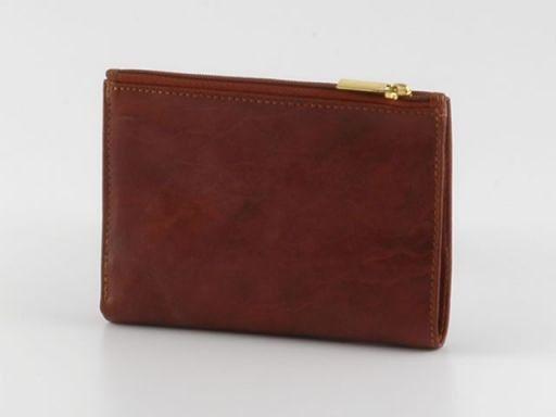 Esclusivo portafoglio in pelle donna Marrone TL140283
