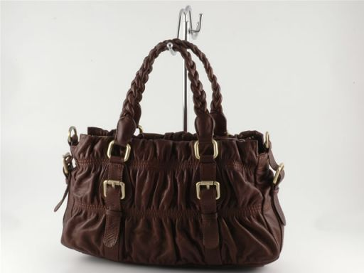 Samantha Lady leather bag Red TL100334