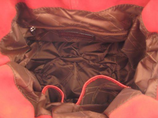Gemma Borsa in pelle di camoscio Blu TL140719