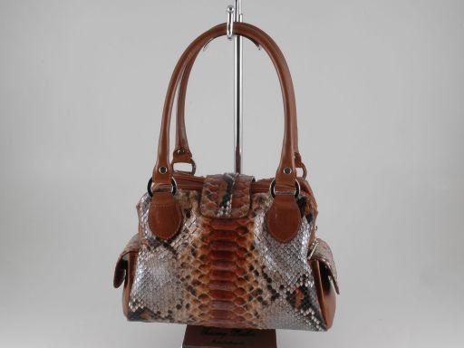 Agata Real python lady bag Коричневый TL140744