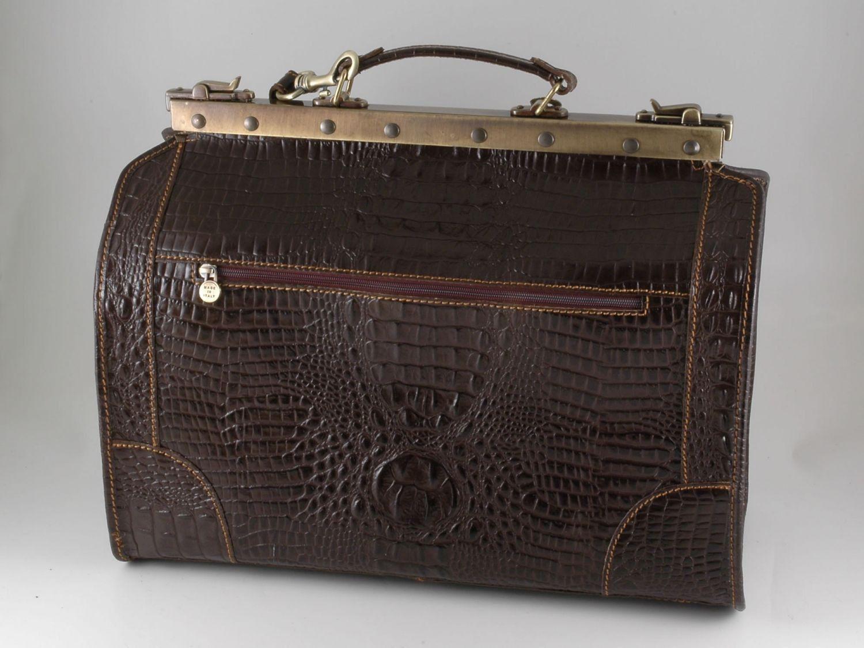Tuscany Leather Madrid Sac de voyage en cuir - Grand modèle Marron RrBy6