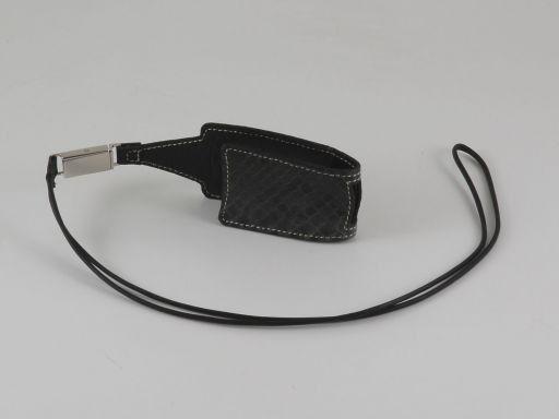 Handytasche aus Pythonleder Klein Tannengrün TL140732