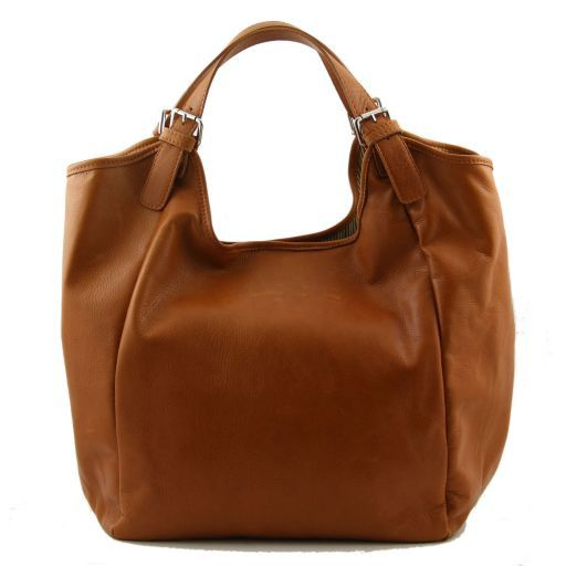 Gina Borsa shopping donna in pelle Ottanio TL140886