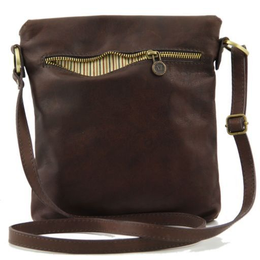 Morgan Borsa a tracolla in pelle Marrone TL140950