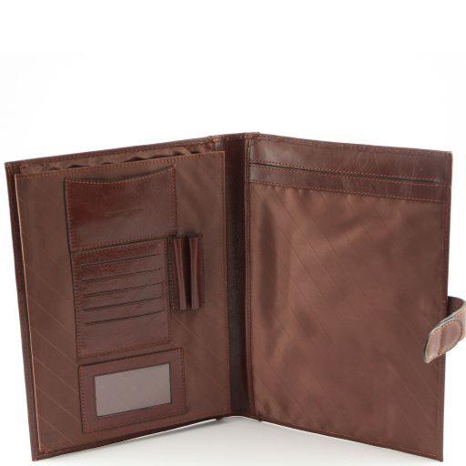 Socrate Exclusive Leather Portfolio Коричневый TL140955