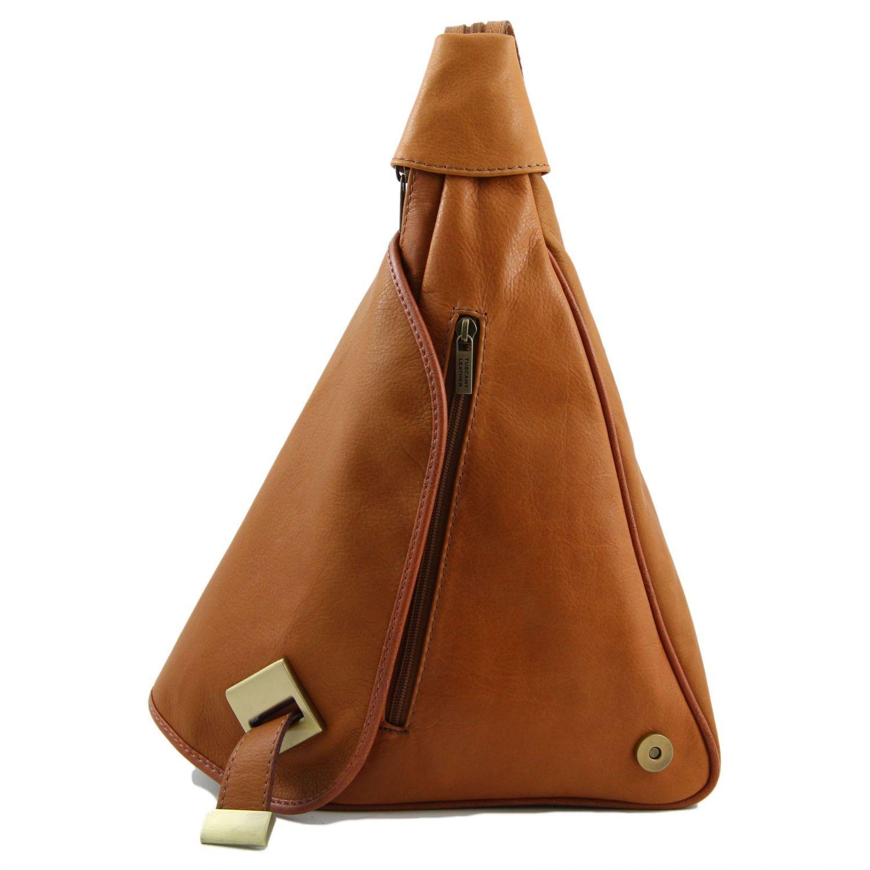 Tuscany Leather - Hanoi - Sac À Dos En Cuir - Bleu YNNUzDMI
