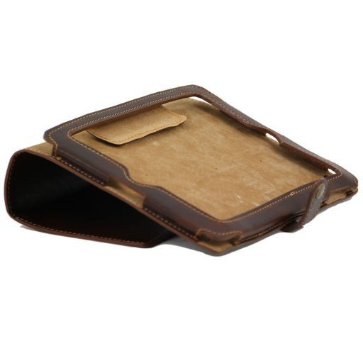 Leather iPad case Honey TL141001