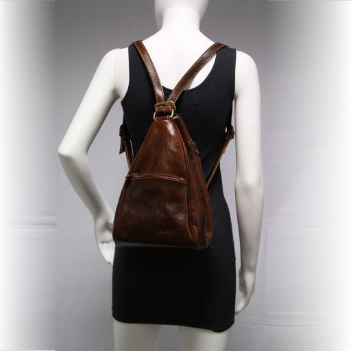 Amy Leather bag/backpack Черный TL141021