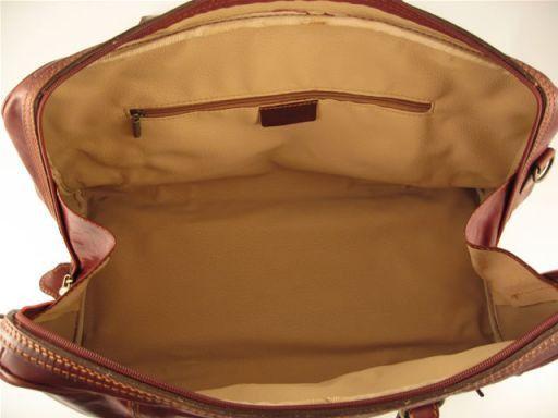 Berlin Travel leather bag - Large size Черный TL141065