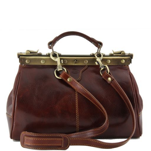 Michelangelo Doctor leather bag Brown TL141084