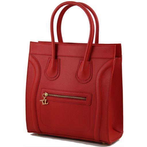TL Bag Textured leather handbag Желтый TL141090